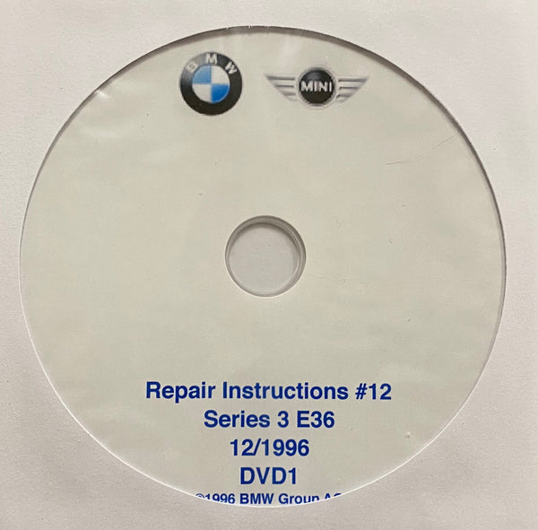 1992-2000 BMW 3 Series E36 models Workshop Manual