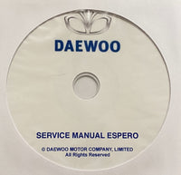 1991-1997 Daewoo Espero Workshop Manual