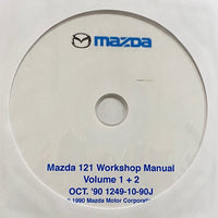 1991-1998 Mazda 121 Workshop Manual