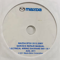 2012-2020 Mazda BT-50 Workshop Manual