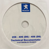 1999-2004 Peugeot 206-406 (D8)-406 (D9) Workshop Manual