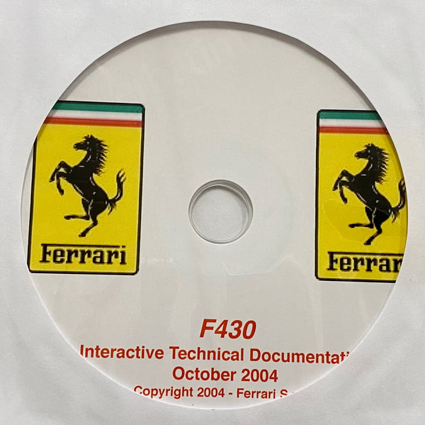 2004-2009 Ferrari F430 Workshop Manual