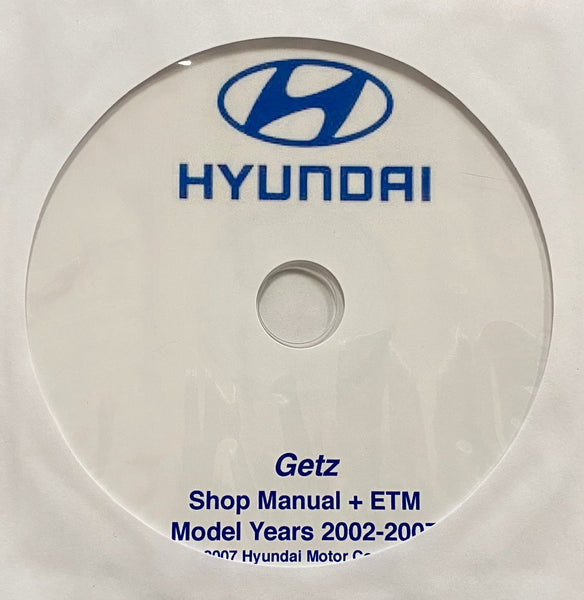 2002-2007 Hyundai Getz Workshop Manual