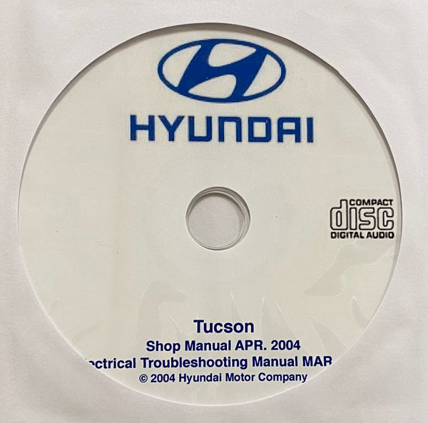 2004-2009 Hyundai Tucson Workshop Manual
