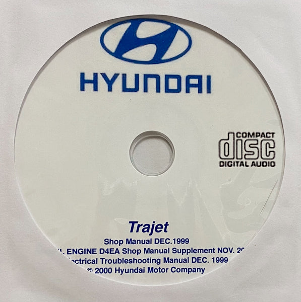 1999-2008 Hyundai Trajet Workshop Manual