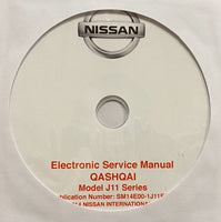 2013 onwards Nissan Qashqai Model J11 Series Workshop Manual