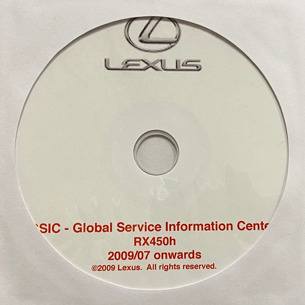 2010-2012 Lexus RX450h Workshop Manual