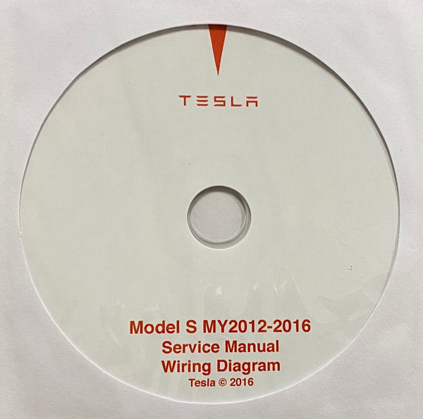 2012-2016 Tesla Model S Workshop Manual