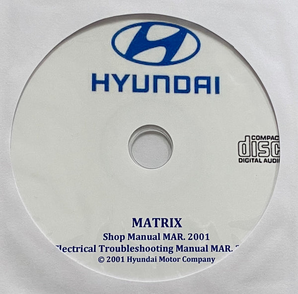 2001-2004 Hyundai Matrix Workshop Manual