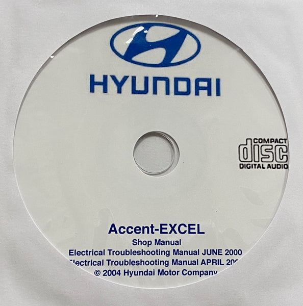 1999-2005 Hyundai Accent and Excel Workshop Manual