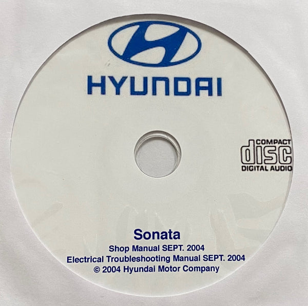 2001-2004 Hyundai Sonata Workshop Manual