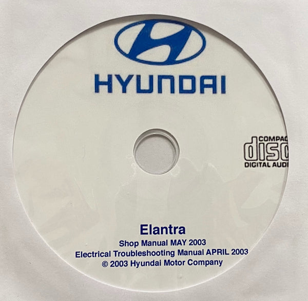 2000-2006 Hyundai Elantra Workshop Manual