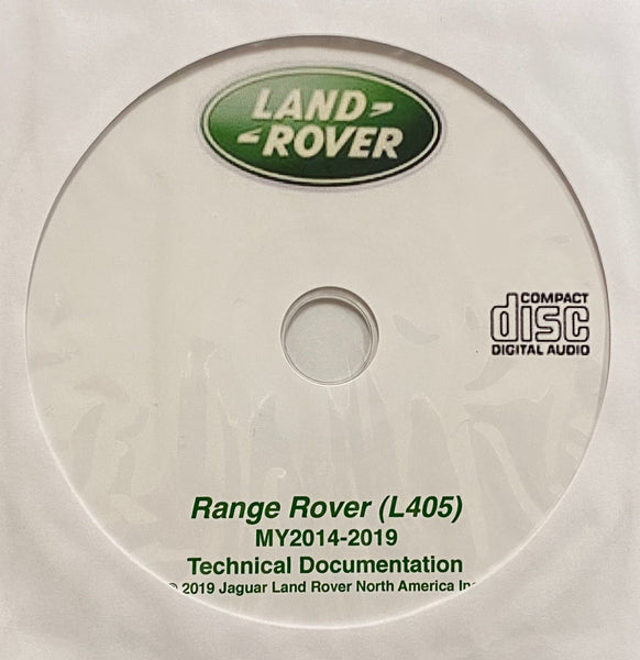 2014-2019 Range Rover (L405) Workshop Manual