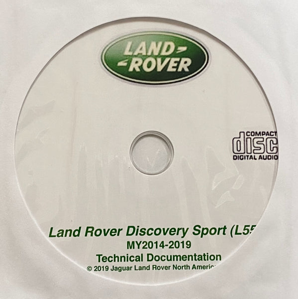2014-2019 Land Rover Discovery Sport (L550) Workshop Manual