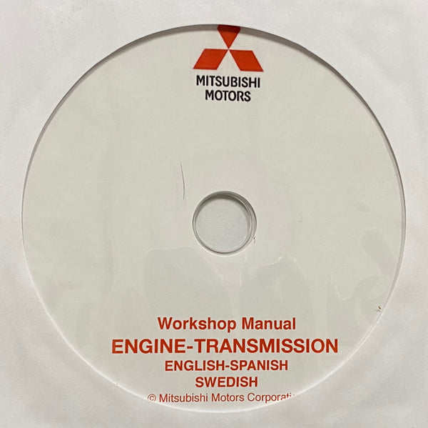 1997-2003 Mitsubishi Engines-Transmissions Workshop Manual