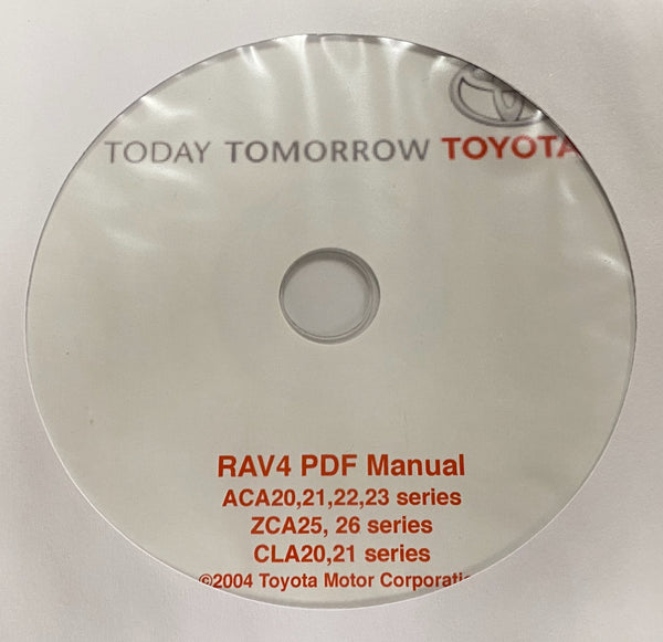 2000-2005 Toyota RAV4 20 series Workshop Manual