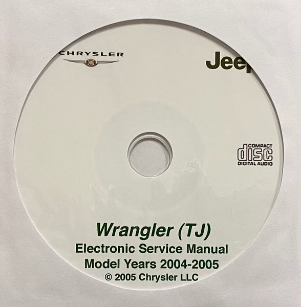 2004-2005 Jeep Wrangler (TJ) Workshop Manual