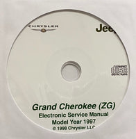 1997 Jeep Grand Cherokee (ZG) Workshop Manual