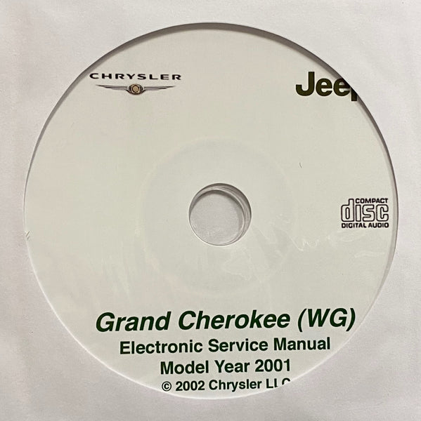 2001 Jeep Grand Cherokee (WG) Workshop Manual