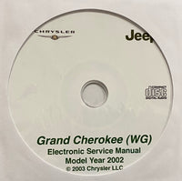 2002 Jeep Grand Cherokee (WG) Workshop Manual