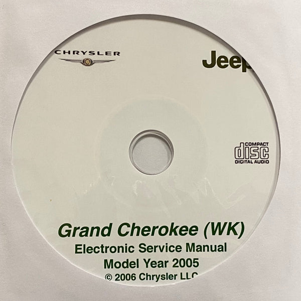 2005 Jeep Grand Cherokee (WK) Workshop Manual