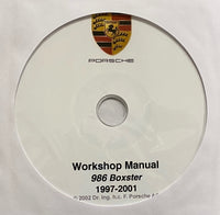 1997-2011 Porsche 986 Boxster Workshop Manual