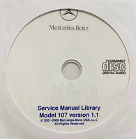 1972-1989 Mercedes-Benz Model 107 US Workshop Manual