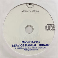 1968-1976 Mercedes-Benz Model 114/115 US Workshop Manual