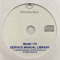 1973-1980 Mercedes-Benz Model 116 US Workshop Manual