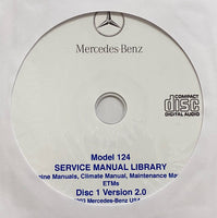 1986-1995 Mercedes-Benz Model 124 US Workshop Manual