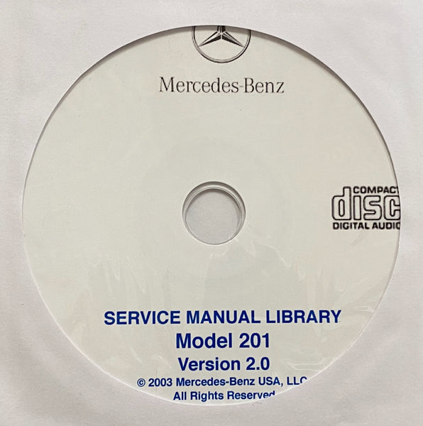 1984-1993 Mercedes-Benz Model 201 US Workshop Manual