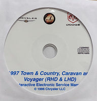 1997 Chrysler Town & Country-Dodge Caravan-Plymouth Voyager Workshop Manual