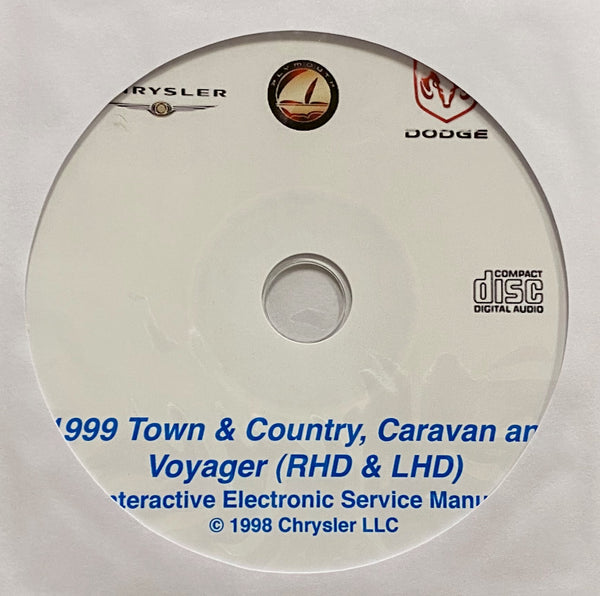 1999 Chrysler Town & Country-Dodge Caravan-Plymouth Voyager Workshop Manual