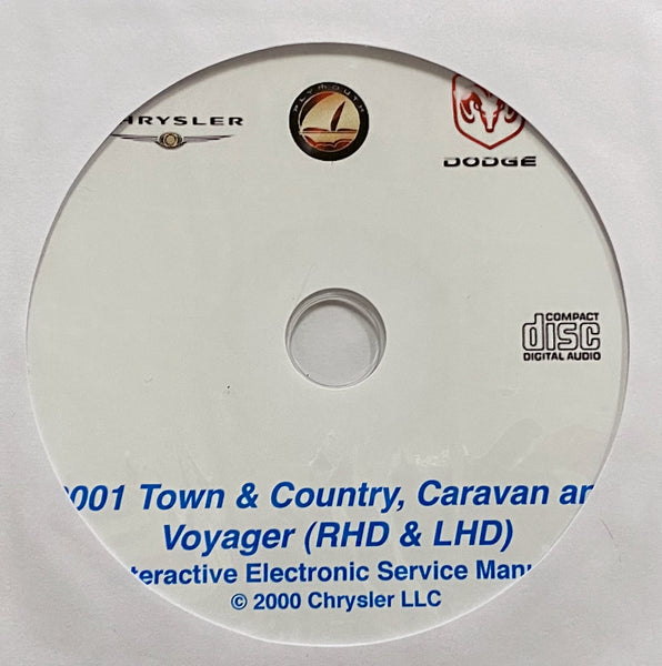 2001 Chrysler Town & Country-Dodge Caravan-Plymouth Voyager Workshop Manual