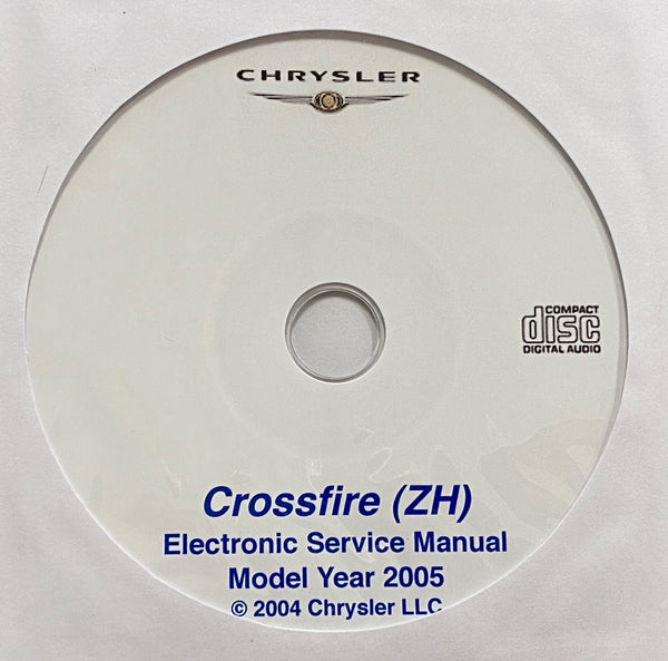 2005 Chrysler Crossfire (ZH) Workshop Manual