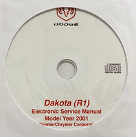 2001 Dodge Dakota (R1) Workshop Manual