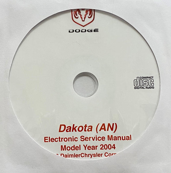 2004 Dodge Dakota (AN) Workshop Manual