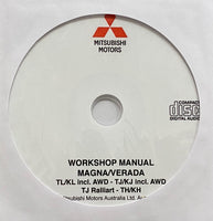 2000-2005 Mitsubishi Magna-Verada Workshop Manual
