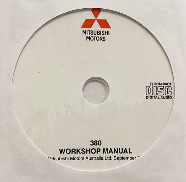 2005-2008 Mitsubishi 380 Workshop Manual