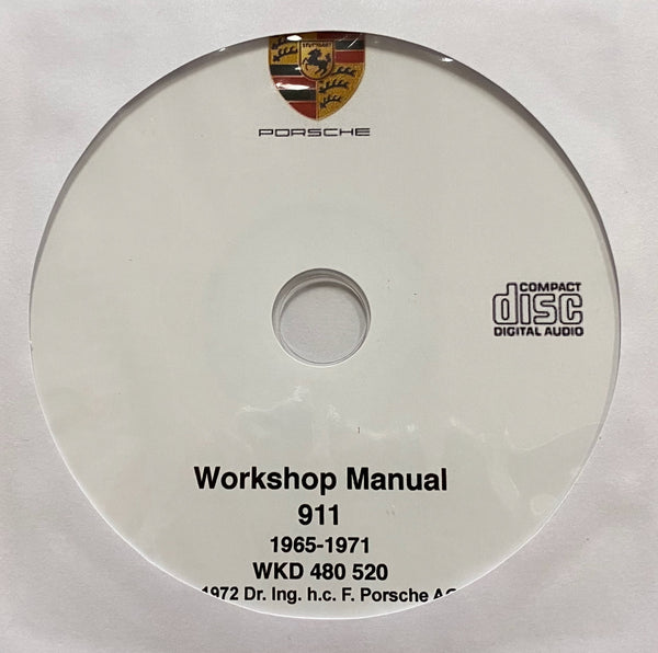 1965-1971 Porsche 911 models Workshop Manual