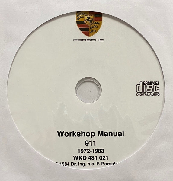 1972-1983 Porsche 911 models Workshop Manual