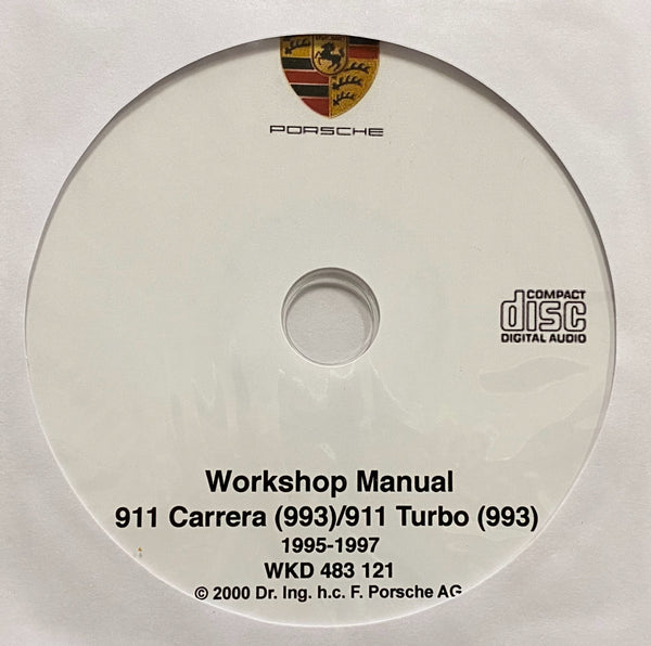 1995-1997 Porsche 911 Carrera (993)/911 Turbo (993) Workshop Manual