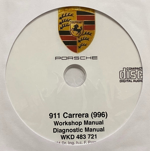 1998-2004 Porsche 911 Carrera (996) Workshop and Diagnostic Manuals
