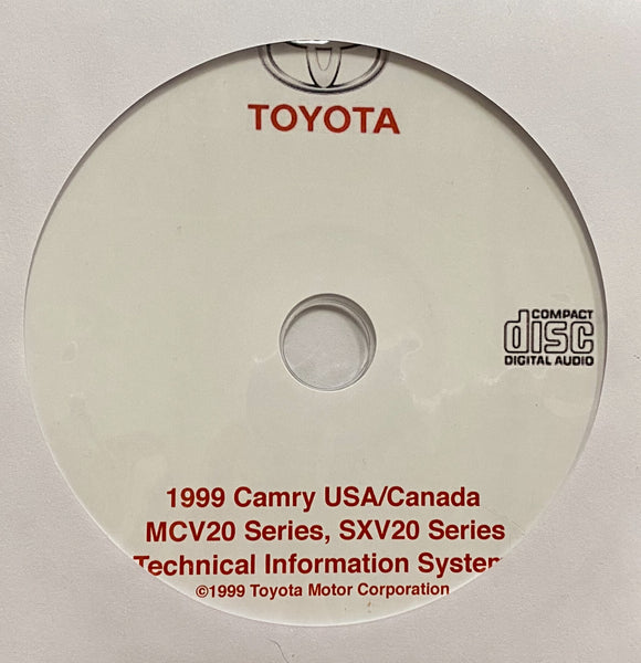 1999 Toyota Camry USA and Canada Workshop Manual