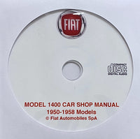 1950-1958 Fiat 1400 Workshop Manual