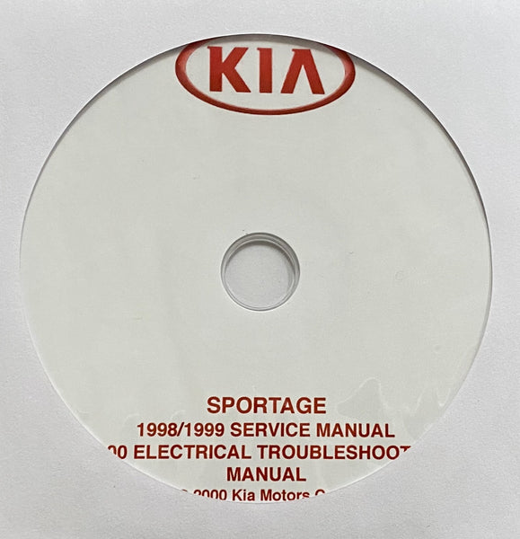 1998-1999 Kia Sportage USA Workshop Manual and Electrical Troubleshooting Manual