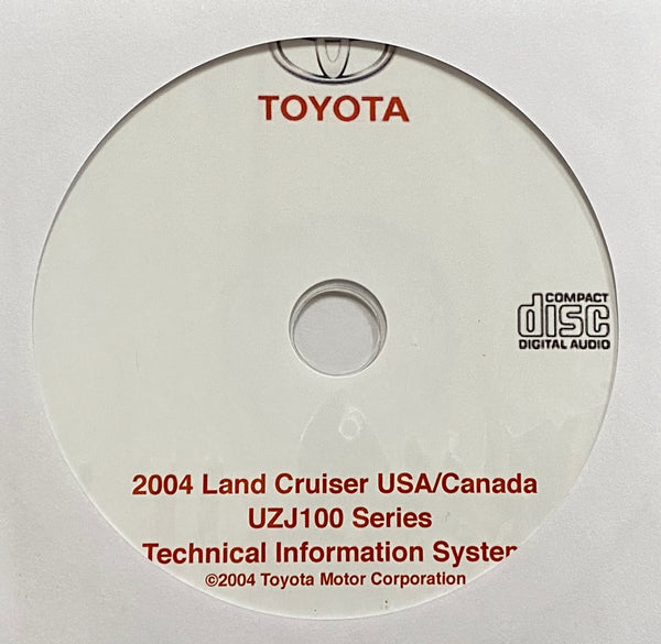 2004 Toyota Land Cruiser USA and Canada Workshop Manual