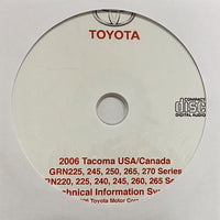 2006 Toyota Tacoma USA and Canada models Workshop Manual