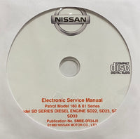 1980-1989 Nissan Patrol Model 160 & 61 Workshop Manual