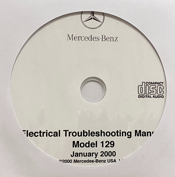 1990-2000 Mercedes-Benz SL Class Model 129 Electrical Troubleshooting Manual
